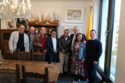 Dr. Andreas Marker, Hermann Kirchholtes, Karl Kästle, Dr. Cruz Prada, Dr. López Espitia, Gerald Gaßmann, Rosmira Gonzalez und Dr. Leyva